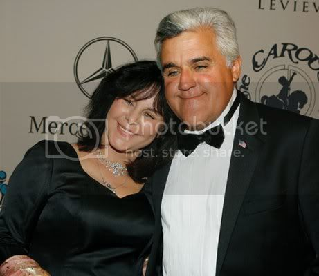 Mavis and Jay Leno
